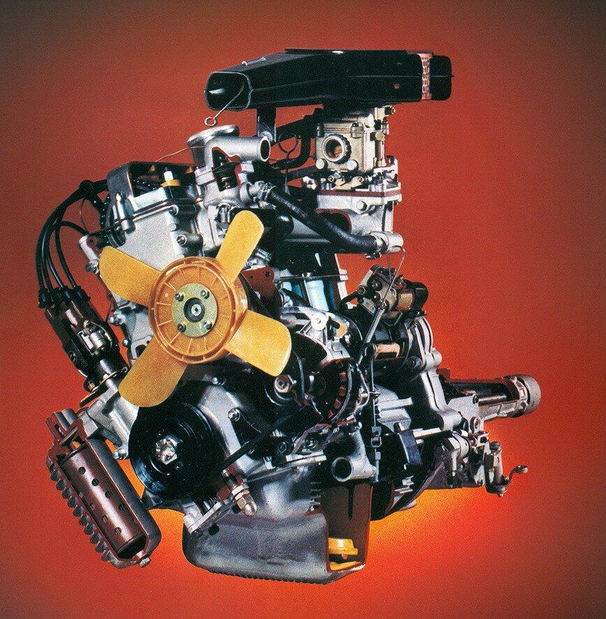 Мотор УЗАМ-412